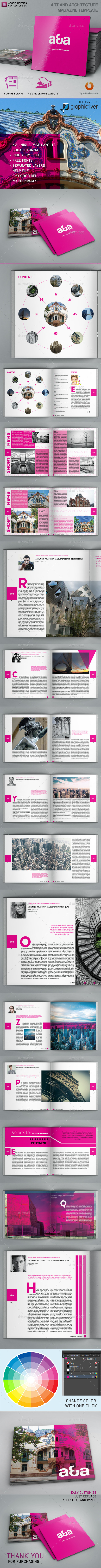 GraphicRiver Art and Architecture Magazine 11404874