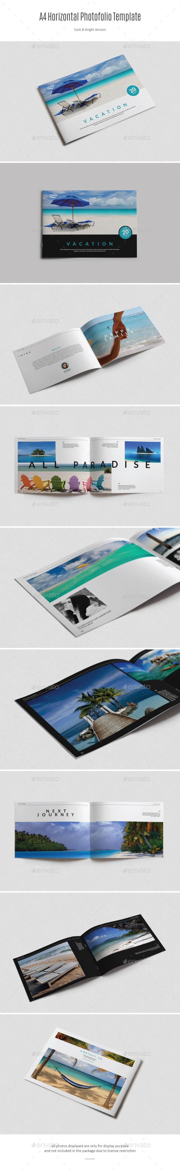 GraphicRiver A4 Horizontal Photofolio 11405465