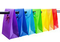 Colorful Shopping Bags on on white background - PhotoDune Item for Sale
