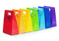 colorful shopping bags isolated - PhotoDune Item for Sale