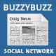 Buzzybuzz - news maker social network - CodeCanyon Item for Sale