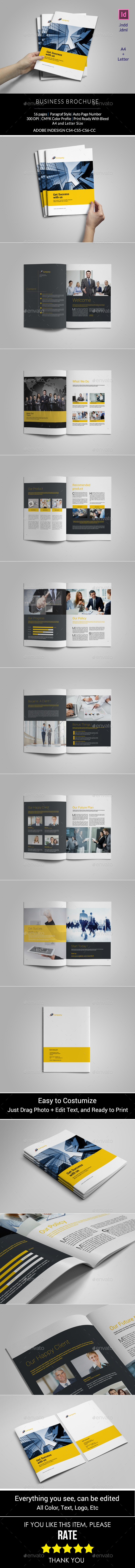 GraphicRiver Business Brochure Template 11406469