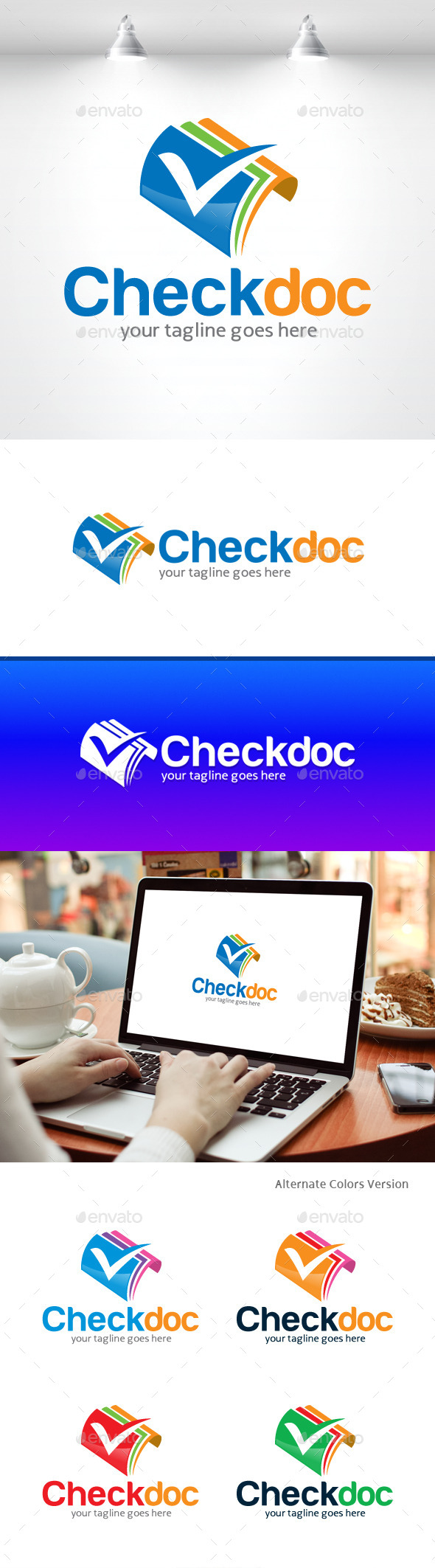 GraphicRiver Check Document Logo 11406595