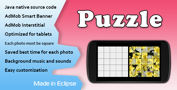CodeCanyon Puzzle Game with AdMob 11376453