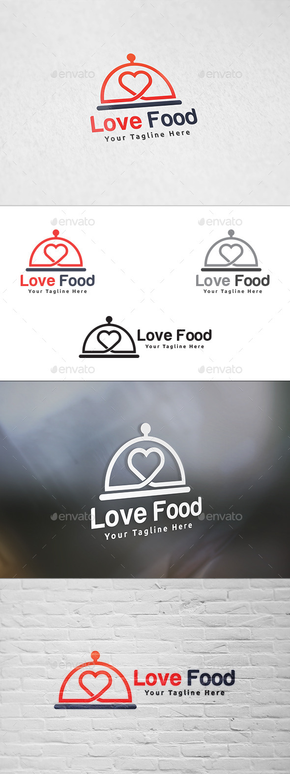 Love Food - Logo Template