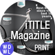 Tech iTitelMagazine  - GraphicRiver Item for Sale
