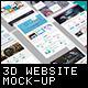3D Website Display Mockup - GraphicRiver Item for Sale