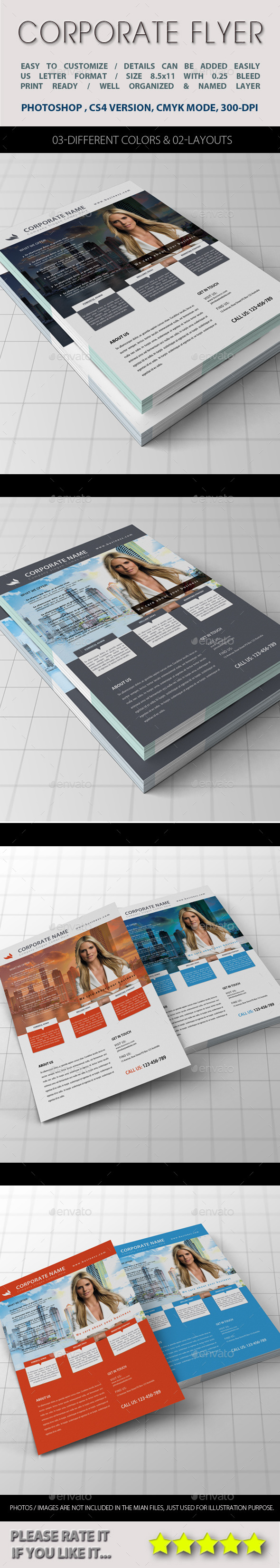 GraphicRiver Corporate Flyer 11407799