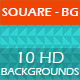 Square - BG | Modern Abstract Backgrounds Pack - GraphicRiver Item for Sale
