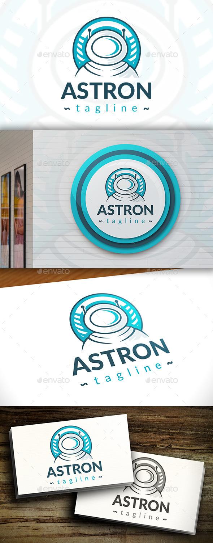 GraphicRiver Astronaut Logo 11408246