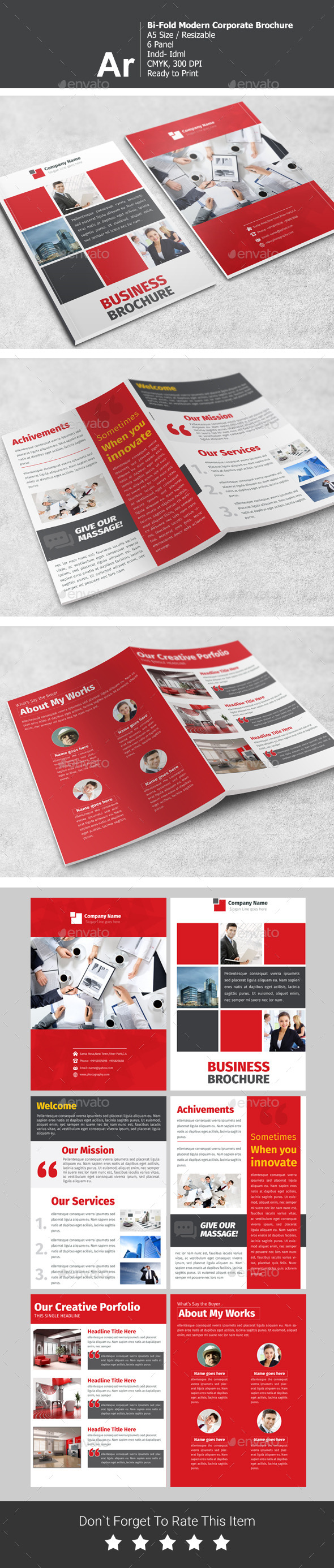 GraphicRiver Bi-Fold Corporate Brochure V2 11408286