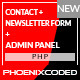 PHP Secure Contact and Newsletter Form - CodeCanyon Item for Sale