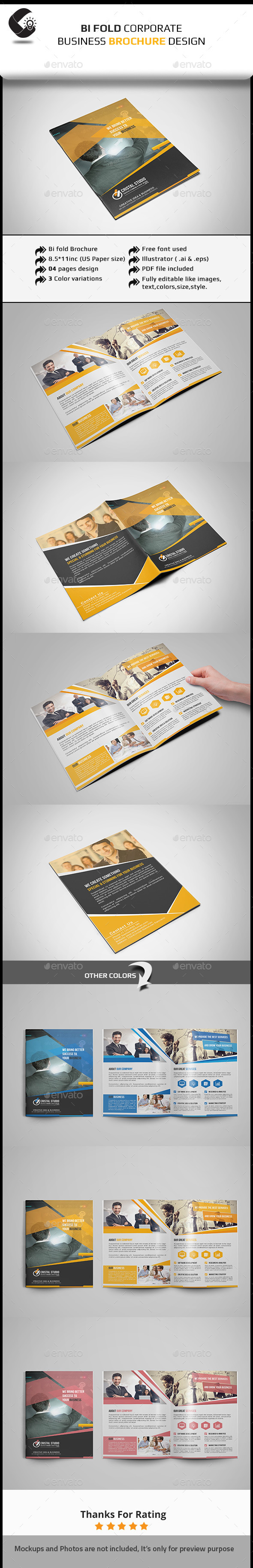 GraphicRiver Corporate Brochure-Multipurpose 11408446