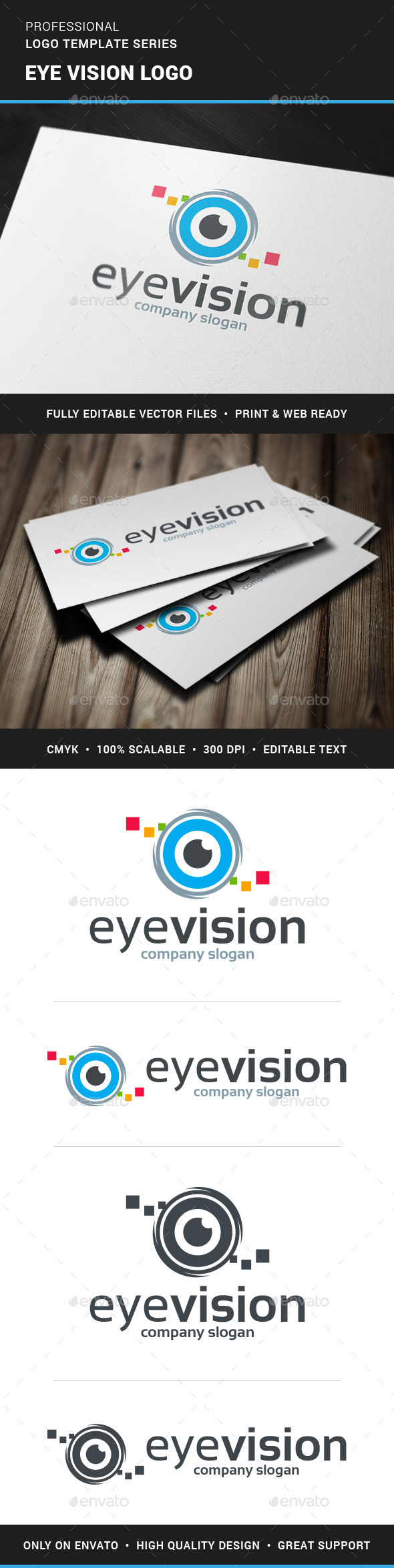 GraphicRiver Eye Vision Logo Template 11409042