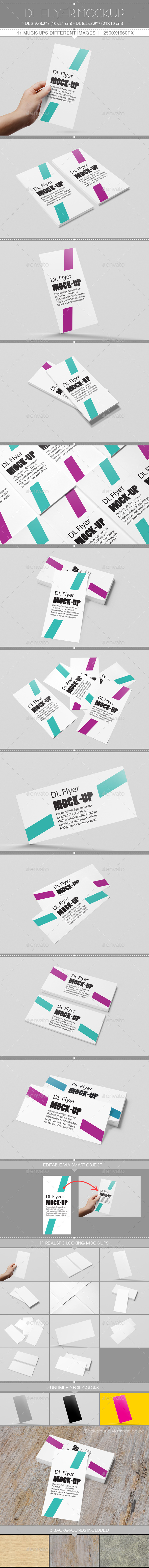 GraphicRiver DL Flyer Mockup 11409518