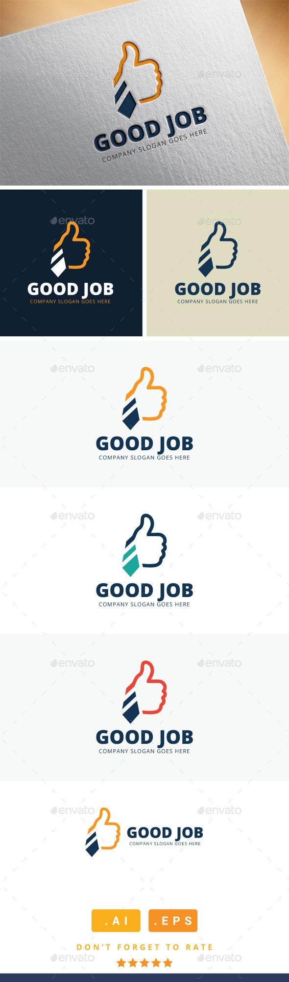 GraphicRiver Good Job Logo 11409569
