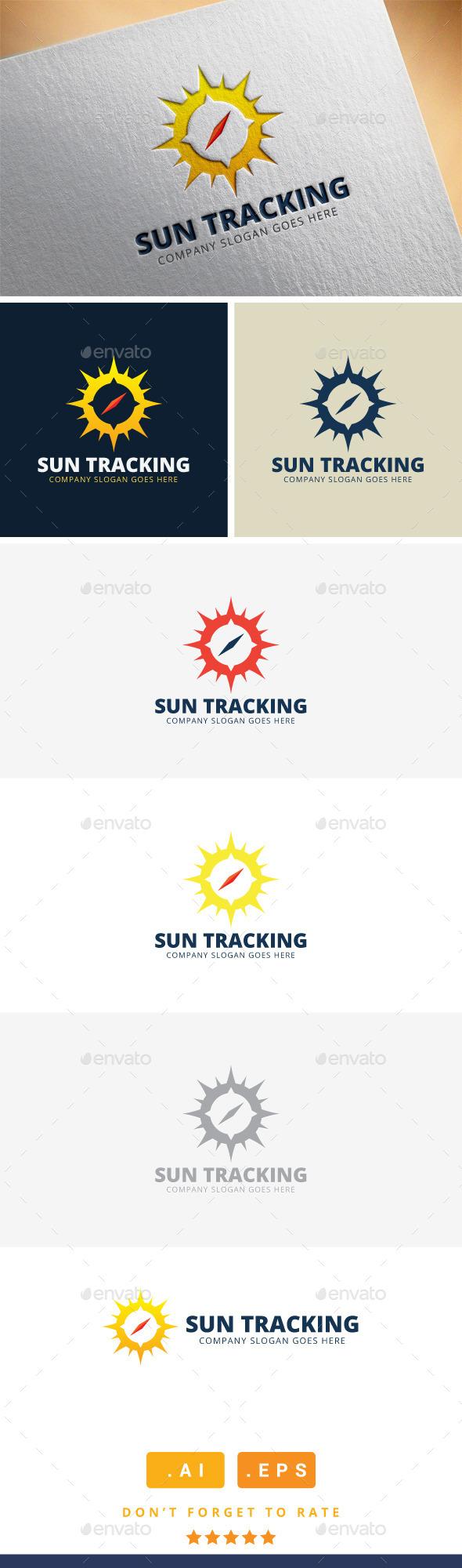 GraphicRiver Sun Tracking Logo 11409574