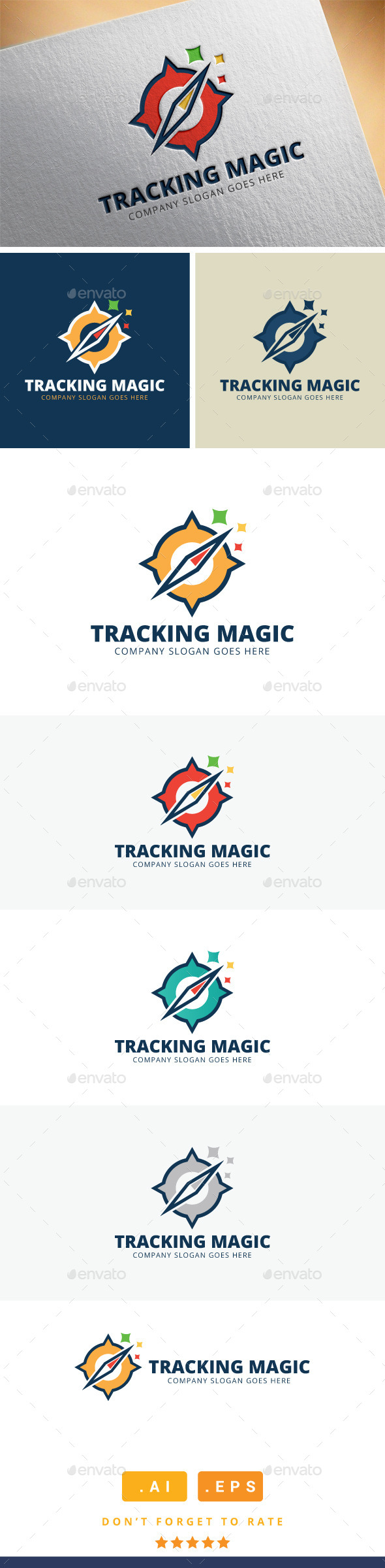 GraphicRiver Tracking Magic Logo 11409577