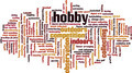 Hobby Word Cloud Concept - PhotoDune Item for Sale