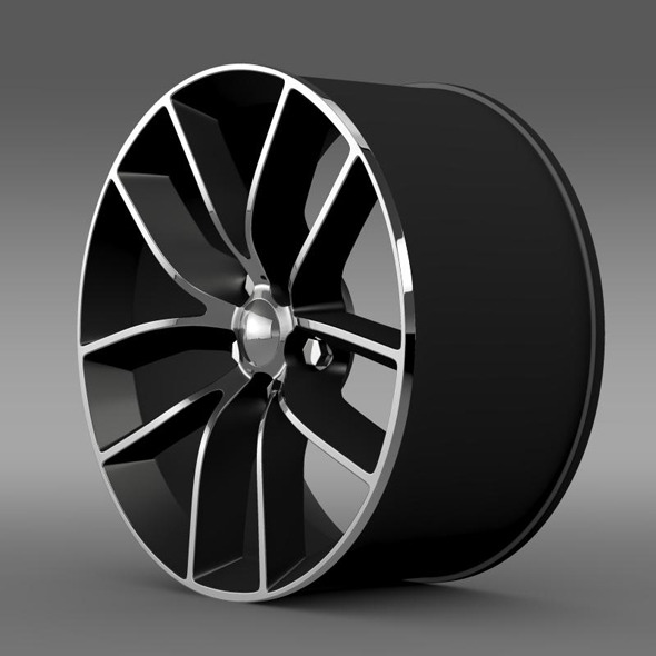 Dodge Challenger 392 rim - 3DOcean Item for Sale