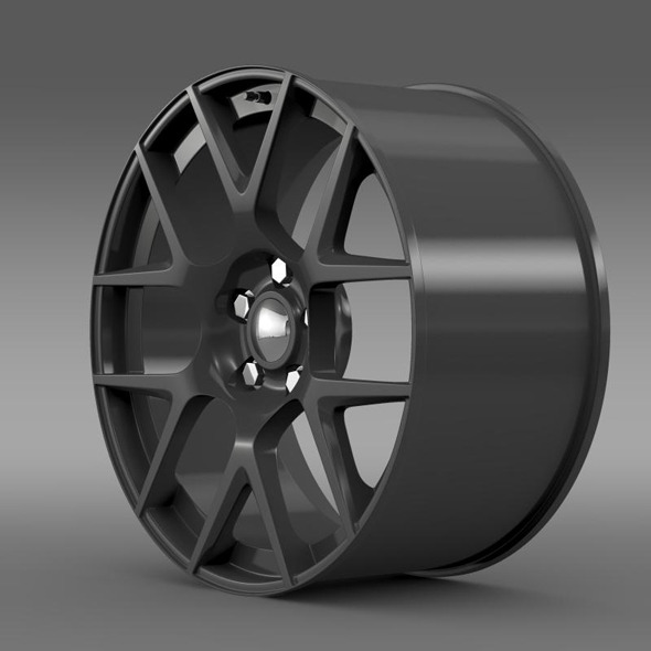 Dodge Challenger RT Shaker rim - 3DOcean Item for Sale