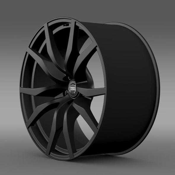 3DOcean Nissan GTR rim 11410163