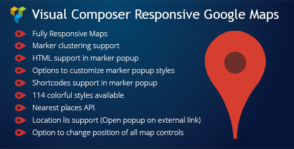 CodeCanyon Visual Composer Responsive Google Maps 11410265