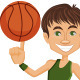 Basketball Player Character or Mascot - GraphicRiver Item for Sale