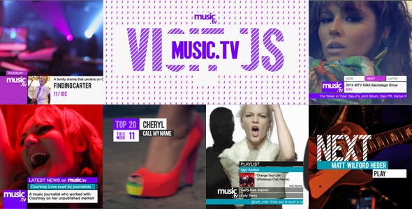 Music TV Channel Broadcast Pack
