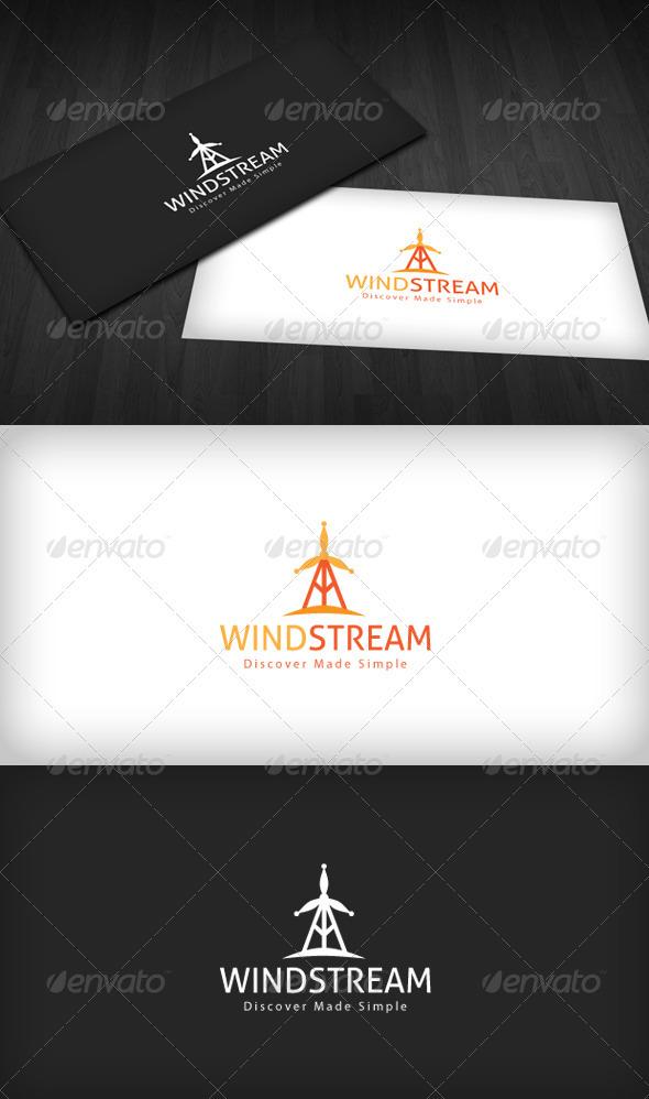 Wind Stream Logo - Symbols Logo Templates