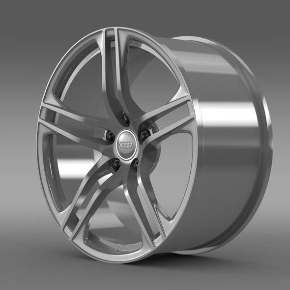 3DOcean Audi R8 GT rim 11410435