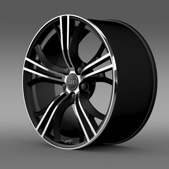 3DOcean Audi R8 V10 Exclusive rim 11410494