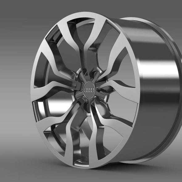 Audi R8 V10 spyder 2013 rim - 3DOcean Item for Sale