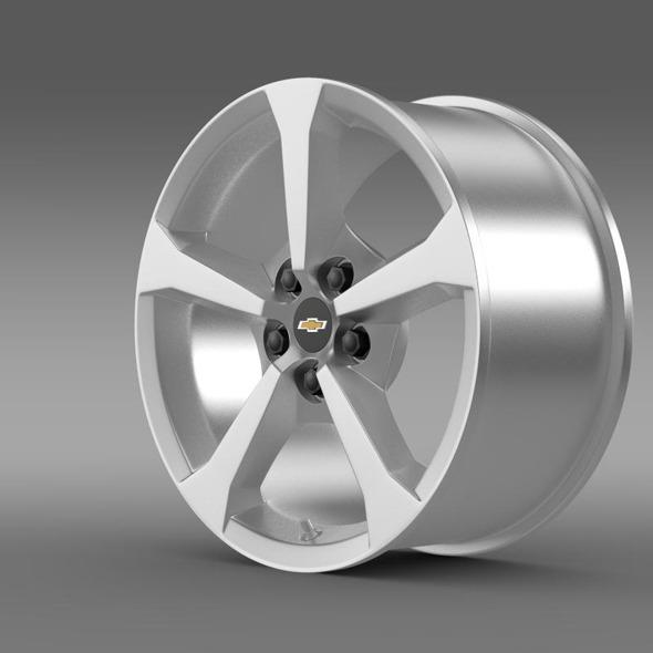 3DOcean Chevrolet Camaro Convertible 2014 rim 11410506