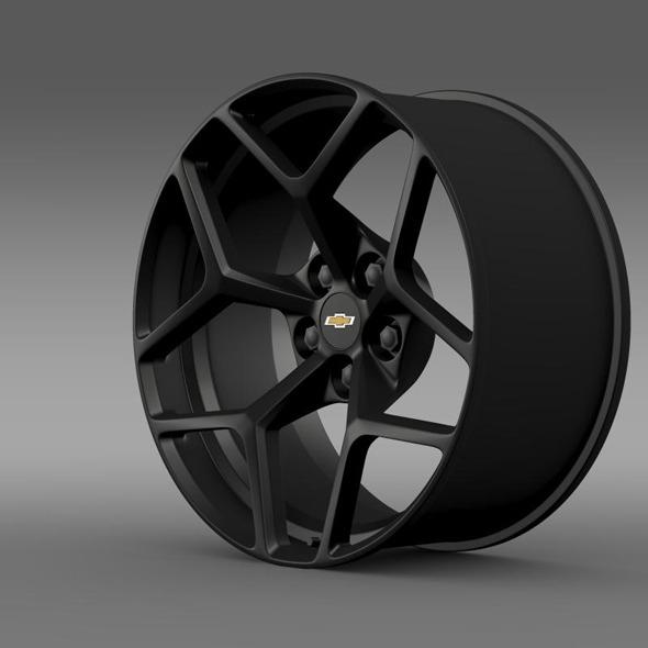 Chevrolet Camaro Z28 2014 rim - 3DOcean Item for Sale