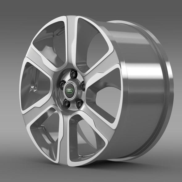 3DOcean RangeRover Hybrid rim 11410646