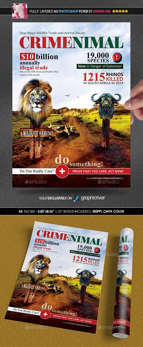 GraphicRiver Crimenimal Poster Flyer 11410648