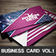 Fitness Company Business Card - GraphicRiver Item for Sale