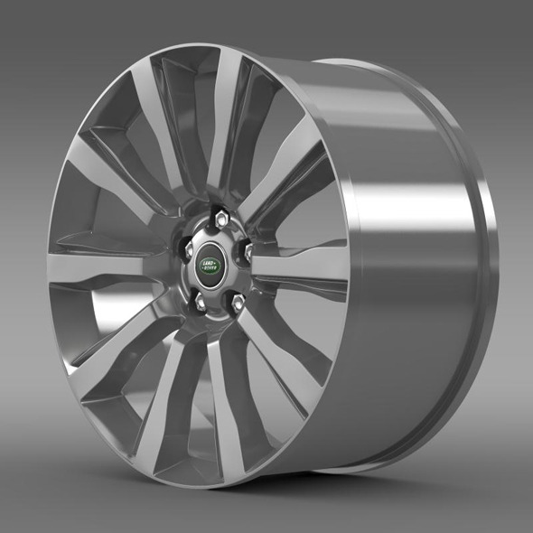 RangeRover Supercharged rim - 3DOcean Item for Sale