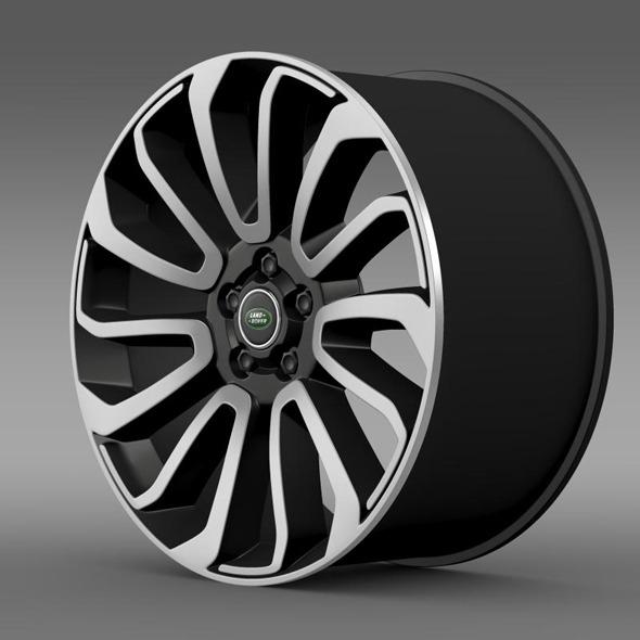 3DOcean RangeRover V8 rim 11410653