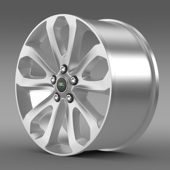 RangeRover Vogue SDV8 rim - 3DOcean Item for Sale