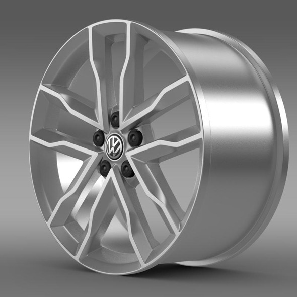 3DOcean Volkswagen Polo TSI Bluemotion rim 11410659