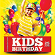Birthday Kids Party Flyer - GraphicRiver Item for Sale