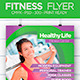 Fitness Healthy Flyer - GraphicRiver Item for Sale