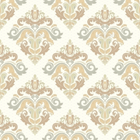 GraphicRiver Damask Seamless Vector Pattern 11410861