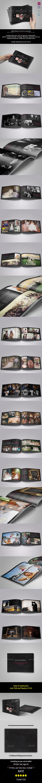 GraphicRiver Chalkboard Wedding Album 11411181