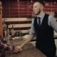Barista Give Cup Of Hot Drink In Bar to Young Man - VideoHive Item for Sale