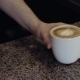 Barista Hands Give a Cup Of Cappuccino - VideoHive Item for Sale