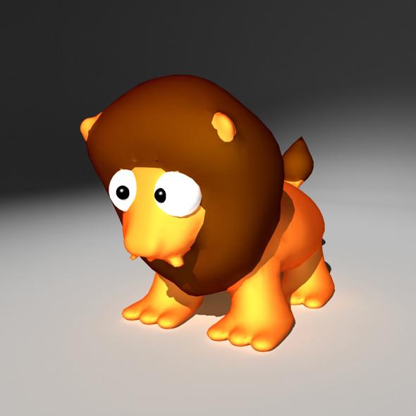 3DOcean Zodiac Leo Cartoon 1142997