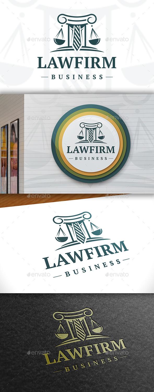 GraphicRiver Law Logo Template 11411728